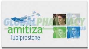 Amitiza (Lubiprostone) 24mcg 28 Capsules  AMITIZA-24