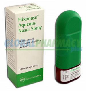 Flonase Nasal Spray (Fluticasone Propionate) - 50mcg, 120 Doses FLONASE-50
