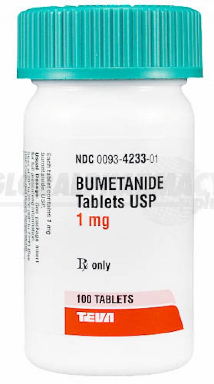Bumetanide (Bumex) 5mg, 28 tablets  BUMEX5
