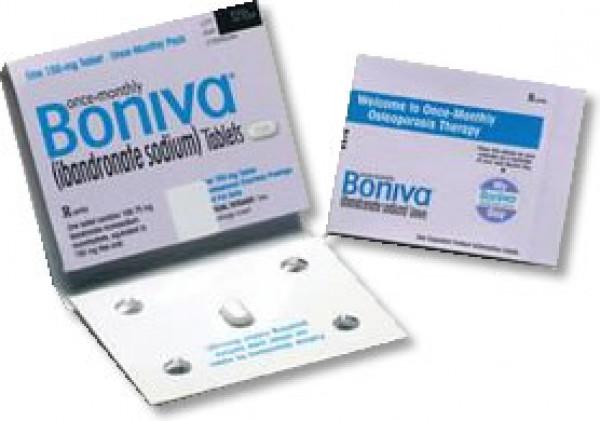 Boniva (Ibandronate Sodium) - 150mg, 1 tablet IBANDRONATE150
